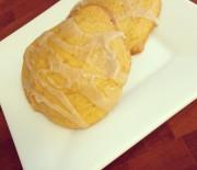 Soft Pumpkin Cookies with Cinnamon Sugar Glaze