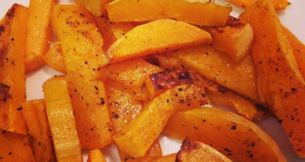 Oven-roasted Butternut Squash Fries